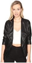 BB Dakota Kendrick Leather Jacket Women's Coat