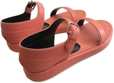 Balenciaga Pink Leather Sandals