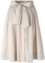 Steffen Schraut pleated skirt - women - Cotton/Polyester/Spandex/Elastane - 34