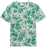 Gucci - Slim-fit Floral-print Cotton T-shirt