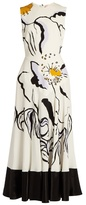 Roksanda Camillo floral-print silk midi dress