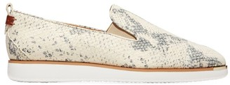 Cole Haan Grand Ambition Slip-On Snakeskin-Embossed Leather Sneakers