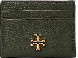Tory Burch Kira Pebbled Leather Card Case