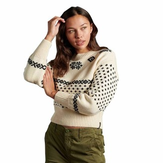 Superdry Women's FREDERICKA Fairisle Sweater