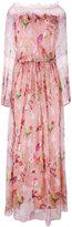 Blumarine floral print gown - women - Silk/Spandex/Elastane/Polyimide - 44