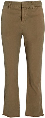 Nili Lotan Montauk Cotton Straight-Leg Pants