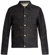 MAISON KITSUNÉ Point-collar denim jacket