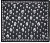Alexander McQueen Classic skull silk scarf
