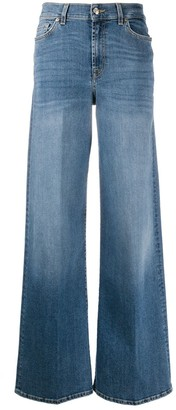 7 For All Mankind Lotta Soho flared denim jeans