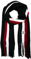 Moncler striped scarf - men - Virgin Wool - One Size