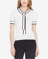 Tahari Asl Tie-Neck Knit Top, Regular & Petite
