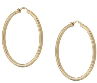 Astley Clarke large Linia hoop earrings