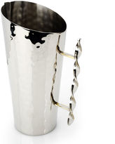 Asstd National Brand Classic Touch hammered stainles steel Water Pitcher