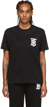 Burberry Black Emerson T-Shirt