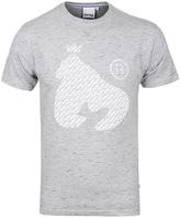 Money Repeat Ape Light Grey Slub Crew Neck T-shirt