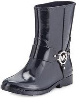MICHAEL Michael Kors Fulton Harness Short Rain Boot, Admiral