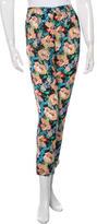 Tucker Silk Floral Print Pants w/ Tags