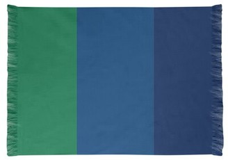 NHS National Hockey Stripes Green Area Rug East Urban Home Non-Skid Pad: Yes