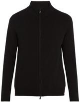 Derek Rose Finley funnel-neck zip-up cashmere sweater