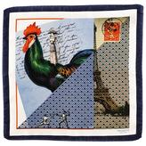 'Parisian Romance' Italian Silk Pocket Square