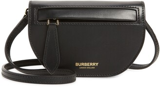 Burberry Olympia Leather Card Case with Detachable Strap