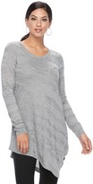 Apt. 9 Women's Textured Striped Tunic