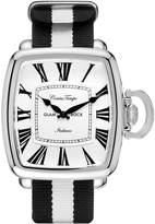Glam Rock Men's Vintage Two Tone Nylon Band Steel Case Quartz Watch Gr28083f