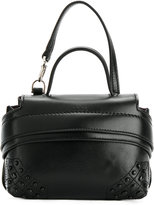 Tod's top cap clutch - women - Leather - One Size