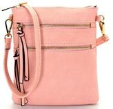 Isa Belle Isabelle Pink Cross Body Bag