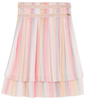 Lili Gaufrette MIREILLE girls's Skirt in Multicolour