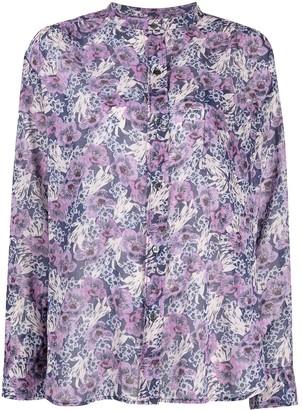 Etoile Isabel Marant Floral-Print Cotton Blouse