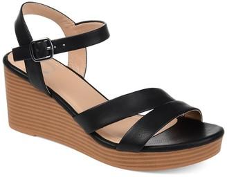 Journee Collection Reegan Wedge Sandal