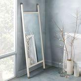 Mid-Century Dowel Mirror – White