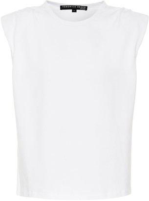 Veronica Beard Zaira stretch-cotton T-shirt