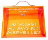 Vintage Orange Vinyl Souvenir De L'Exposition Kelly