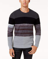 INC International Concepts Men's Pieced Sweater, Created for Macy's