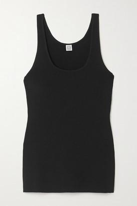 Totême Urda Knitted Tank - Black