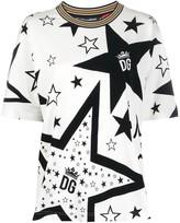 Dolce & Gabbana Millenials Star print T-shirt