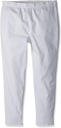 Joan Vass Women's Plus Size Stretch Ankle Denim Pant
