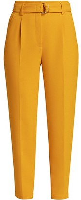 Akris Punto Fred Belted Crepe Pants