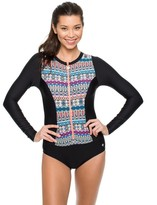 Next Find Your Chi Long Sleeve Malibu Zip One Piece