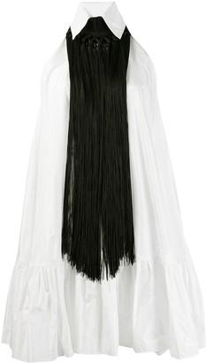 Talbot Runhof Tootsie flared dress
