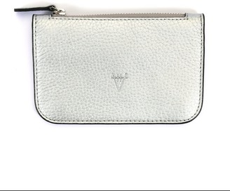 Atelier Hiva Alae Leather Wallet Silver
