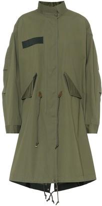 Sacai Cotton oxford coat