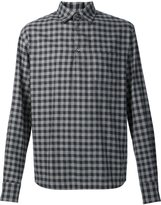 Barena checked long sleeve shirt