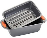 Rachael Ray Oven Lovin Nonstick Bakeware Meat Loaf Pan Set, 2pc