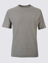 M&S Collection Big & Tall Pure Cotton Crew Neck T-Shirt