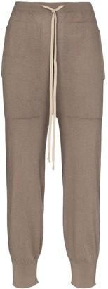 Rick Owens Fine Knit Track Pants