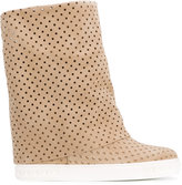 Casadei mid-calf boots - women - Nappa Leather/Calf Suede/rubber - 36