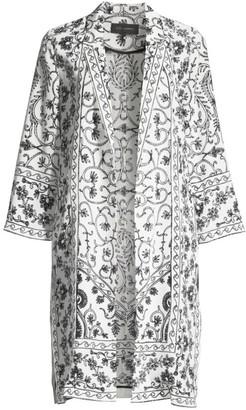 Kobi Halperin Suzette Floral Silk Coat